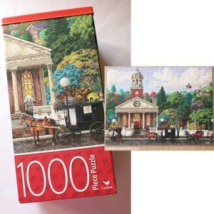 Puzzle Church and Horses 1000 pieces